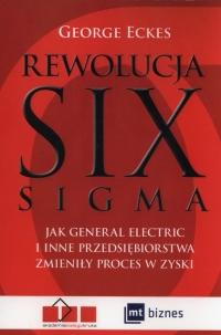 Rewolucja Six Sigma - George Eckes | mała okładka