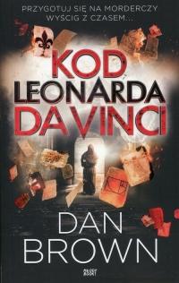 Kod Leonarda da Vinci wydanie skrócone - Dan Brown | mała okładka