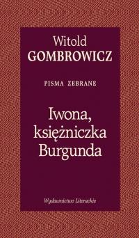 Iwona księżniczka Burgunda - Witold Gombrowicz   mała okładka