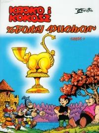 Kajko i Kokosz Złoty Puchar 1 - Janusz Christa | mała okładka