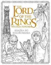 The Lord of the Rings Trylogia filmowa Książka do kolorowania -    mała okładka