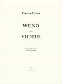 Wilno Vilnius - Czesław Miłosz | mała okładka