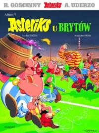 Asteriks u Brytów - Rene Goscinny | mała okładka