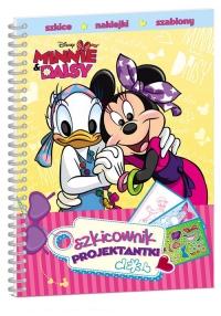 Minnie i Daisy Szkicownik projektantki -  | mała okładka