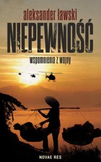 Niepewność Wspomnienia z wojny - Aleksander Ławski | mała okładka