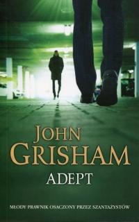 Adept - John Grisham | mała okładka