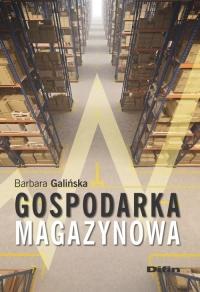 Gospodarka magazynowa - Barbara Galińska | mała okładka