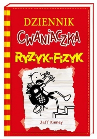Dziennik cwaniaczka 11. Ryzyk-fizyk - Jeff Kinney | mała okładka