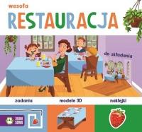 Wesoła restauracja - zbiorowa praca   mała okładka