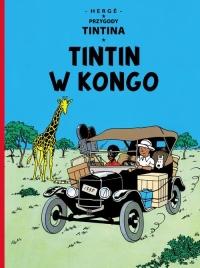 Przygody Tintina Tintin w Kongo Tom 2 - Remi Georges Prosper   mała okładka