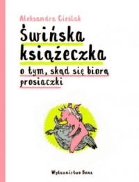 Świńska książeczka - Aleksandra Cieślak | mała okładka