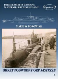 Okręt podowodny ORP Jastrząb - Mariusz Borowiak | mała okładka