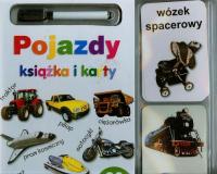 Pojazdy Książka i karty ścieralne - zbiorowa praca   mała okładka