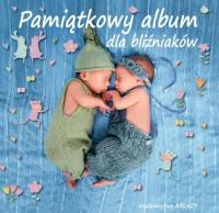 Pamiątkowy album dla bliźniaków - zbiorowa Praca   mała okładka