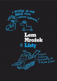 Listy - Mrożek Sławomir, Lem Stanisław   mała okładka