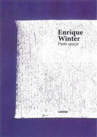 Puste spacje - Enrique Winter   mała okładka