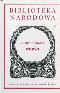 Wiersze - Juliusz Słowacki   mała okładka