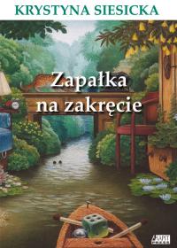 Zapałka na zakręcie - Krystyna Siesicka | mała okładka