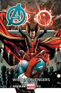 Avengers Wieczni Avengers - Hickman Jonathan, Yu Leynil Francis   mała okładka