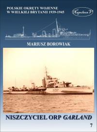 Niszczyciel ORP Garland - Mariusz Borowiak | mała okładka