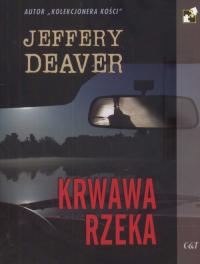Krwawa rzeka - Jeffery Deaver   mała okładka