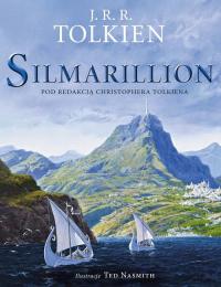 Silmarillion Wersja ilustrowana - J.R.R. Tolkien | mała okładka