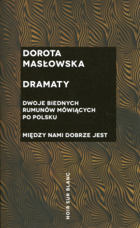 Dramaty - Dorota Masłowska | mała okładka