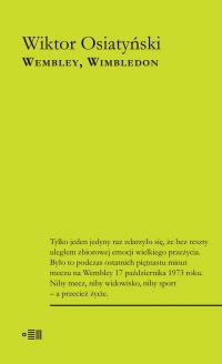 Wembley Wimbledon - Wiktor Osiatyński   mała okładka
