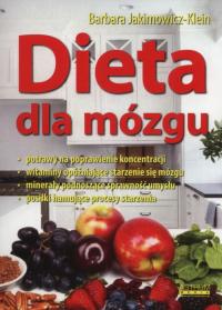 Dieta dla mózgu - Barbara Jakimowicz-Klein | mała okładka