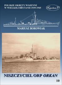 Niszczyciel ORP Orkan - Mariusz Borowiak | mała okładka