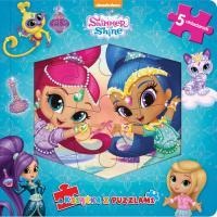 Shimmer & Shine Książka z puzzlami -  | mała okładka