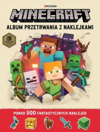 Minecraft Album przetrwania z naklejkami - Jelley Craig, Milton Stephanie   mała okładka