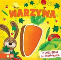 Książki z szablonami Warzywa - zbiorowa praca   mała okładka