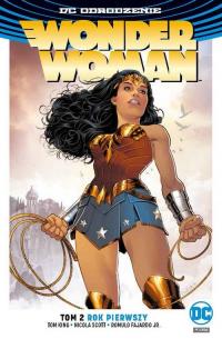 Wonder Woman Tom 2 Rok pierwszy - Rucka Greg, Scott Nicola, FajardoJr. Romulo | mała okładka