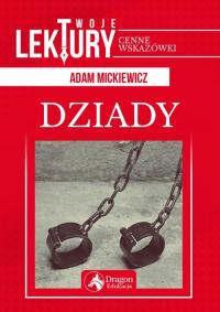 Dziady - Adam Mickiewicz   mała okładka