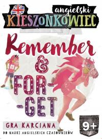 Kieszonkowiec angielski Remember Forget (9+) - Dorota Kondrat | mała okładka