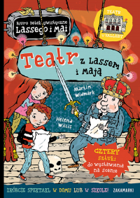Teatr z Lassem i Mają - Martin Widmark   mała okładka