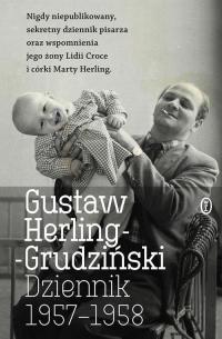 Dziennik 1957-1958 - Gustaw Herling-Grudziński | mała okładka