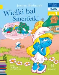 Wielki bal Smerfetki Czytam sobie - Justyna Bednarek | mała okładka