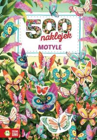 500 naklejek Motyle -  | mała okładka