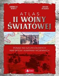 Atlas II wojny światowej - Jordan David, Wiest Andrew | mała okładka