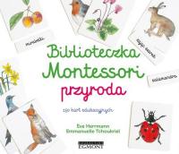 Biblioteczka Montessori Przyroda - Eve Herrmann   mała okładka