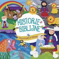 Historie Biblijne Trójwymiarowe obrazki - Cultura Ciranda   mała okładka