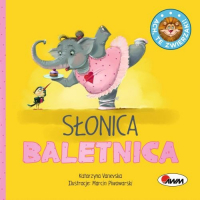 Ach, te zwierzaki! Słonica Baletnica - Katarzyna Vanevska   mała okładka
