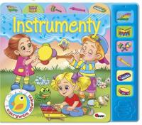 Odkrywam dźwięki Instrumenty - Mirosława Kwiecińska | mała okładka