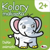 Kolory maluszka Dzikie zwierzęta - Piotr Kozera | mała okładka