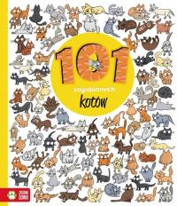 101 zagubionych kotków - Natalia Galuchowska | mała okładka