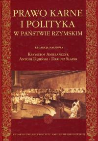 Prawo karne i polityka w państwie rzymskim -  | mała okładka