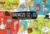 Zabawy logopedyczne Badacze Cz i Dż - Ewelina Protasewicz   mała okładka
