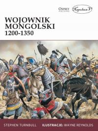 Wojownik mongolski 1200-1350 - Stephen Turnbull   mała okładka